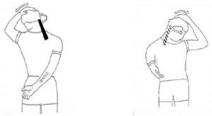 Stretchen schouderspier