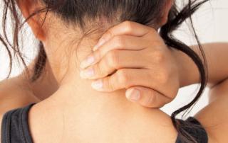 hoofdmassage nekmassage