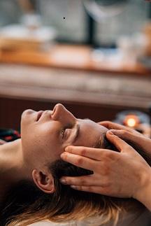 hoofdmassage bij stress reductie massage